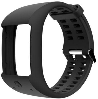 polar noir m m600 accessoire montre connect e bracelet connect boulanger. Black Bedroom Furniture Sets. Home Design Ideas