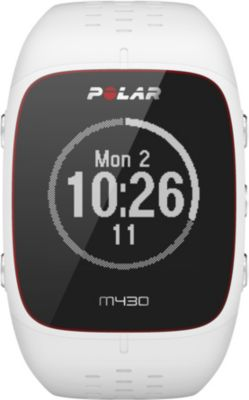 Montre sport GPS Polar M430 blanc