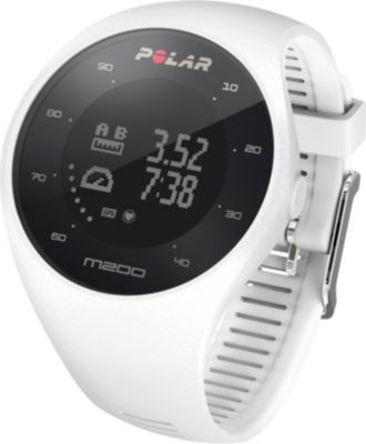 Montre running Polar M200 blanche