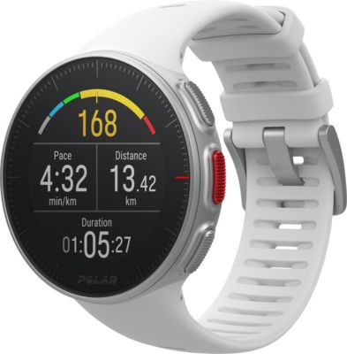 Montre sport GPS Polar Vantage V blanche
