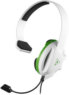 Casque Gamer turtle beach recon chat xbox one blanc