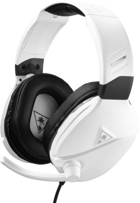 Casque gamer Turtle Beach Recon 200 PS4 Blanc