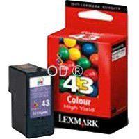 Cartouche d'encre Lexmark n°43XL couleur