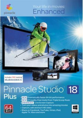 Logiciel de photo/vidéo Pinnacle Studio 18 Plus