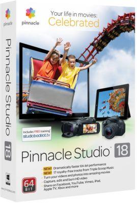Logiciel de photo/vidéo Pinnacle Studio 18 STD