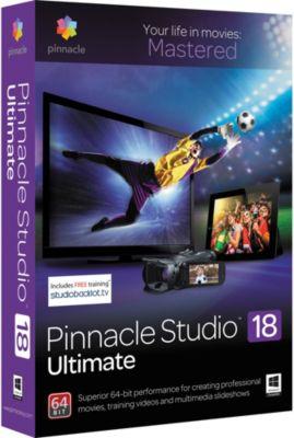 Logiciel de photo/vidéo Pinnacle Studio 18 Ultimate