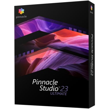 Logiciel PC  PINNACLE Studio 23 Ultimate