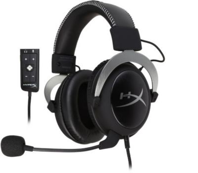 Casque Gamer hyperx cloud ii- argent