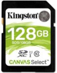 Mémoire KINGSTON Canvas Select 128Go SDX