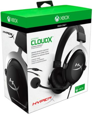 Casque Gamer hyperx cloud gaming headset xbox one