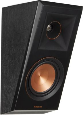 Enceinte bibliothèque Klipsch RP- 500SA ATMOS Ebony Vinyl x2