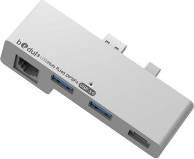 Adaptateur Usb c bidul 2 ports usb3.0 + prise rj45