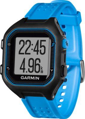 Montre sport GPS Garmin Forerunner 25 Noir/Bleu Large