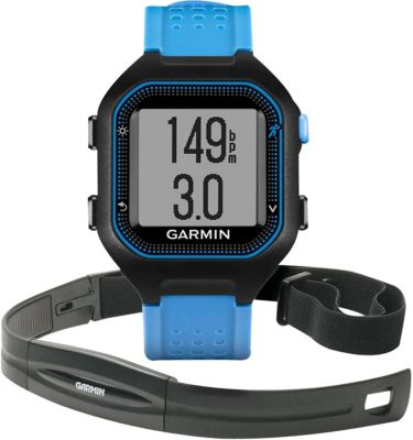 garmin forerunner25 noir bleu ceinture cardio montre gps boulanger. Black Bedroom Furniture Sets. Home Design Ideas