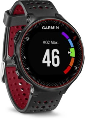 Montre running Garmin Forerunner 235 HR Noir/Rouge