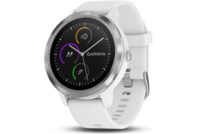 montre gps garmin vivoactive 3 silver blanc boulanger. Black Bedroom Furniture Sets. Home Design Ideas