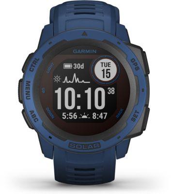 Montre sport Garmin Instinct Solar Tidal Blue/Graphite