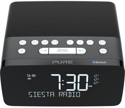 Radio réveil Pure Siesta Charge Graphite