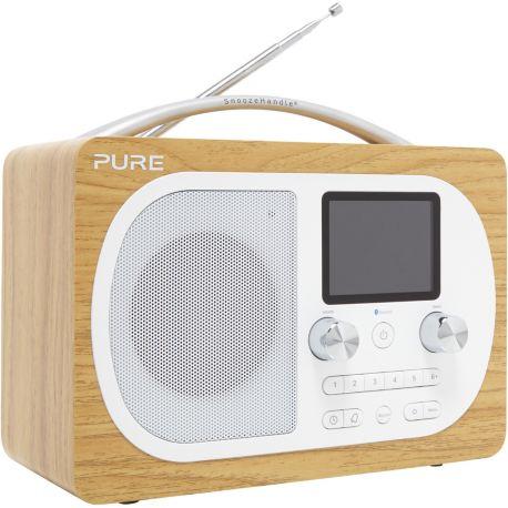 Radio PURE Evoke H4 OAK