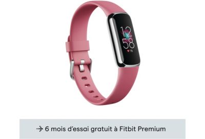 Tracker FITBIT Luxe platine orchidee