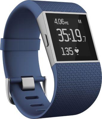 Montre sport GPS Fitbit Surge Bleu S