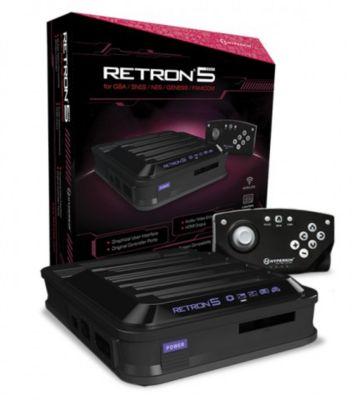 Console Rétro hyperkin retron 5 noire