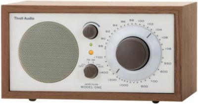 Radio analogique Tivoli Model One BT Noyer
