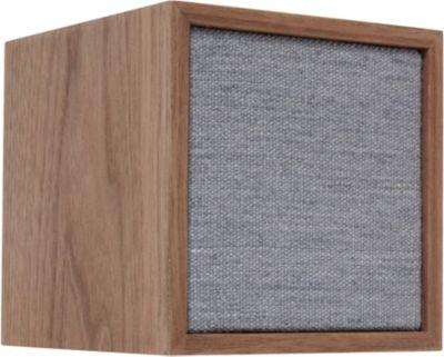 Enceinte Bluetooth Tivoli Cube Bois/Gris