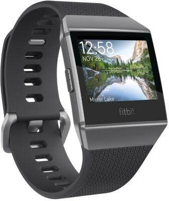 Montre sport GPS Fitbit Ionic gris graphite