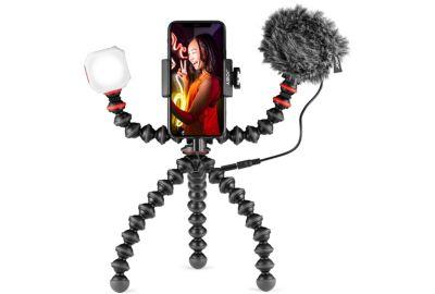 Pied flexible JOBY Kit vlogging 3 en 1 GorillaPod