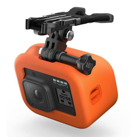 Fixation GOPRO Bite Mount + Floaty Hero8