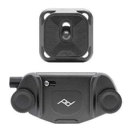Support PEAK-DESIGN Clip V3 noir avec plateau