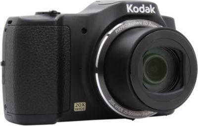 Appareil photo Compact Kodak FZ201 Noir + Carte SD Essentielb 16Go SDHC Loisirs