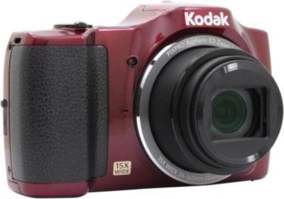Kodak fz152 rouge appareil photo compact boulanger - Appareil photo compact boulanger ...