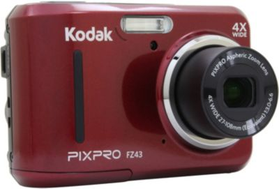 Appareil photo Compact Kodak Pixpro FZ43 Rouge