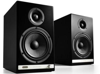 Enceinte bibliothèque Audioengine HD6 Noir Satin X2