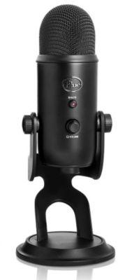 Micro gamer Blue Microphones Yeti Black