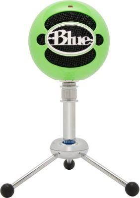 Micro gamer Blue Microphones Snowball Vert Néon
