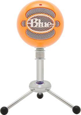 Micro gamer Blue Microphones Snowball Orange Néon
