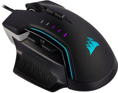Souris gamer Corsair GLAIVE RGB PRO Aluminum