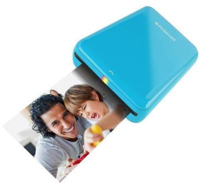 Imprimante photo portable Polaroid ZIP bleue