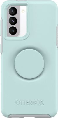 Coque Otterbox Samsung S21 Pop Symmetry bleu