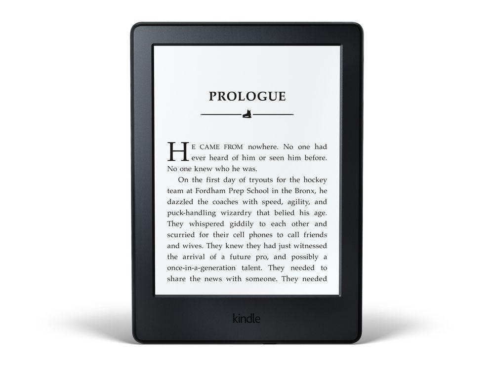 Amazon Kindle noir