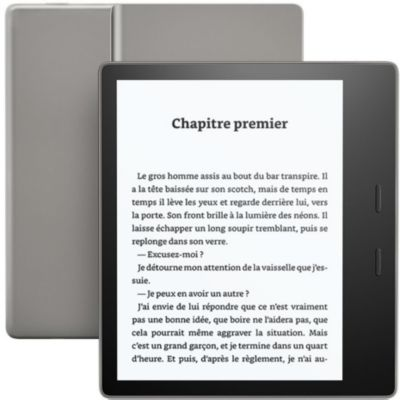 Liseuse eBook Amazon Kindle Oasis 7' - Noir