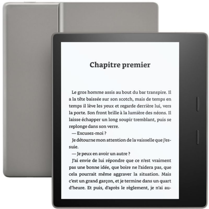 f3c8440a54e41 Liseuse ebook AMAZON Kindle Oasis 7' - Noir