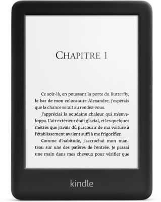 Liseuse eBook Amazon Nouveau Kindle 6' Noir 4Go