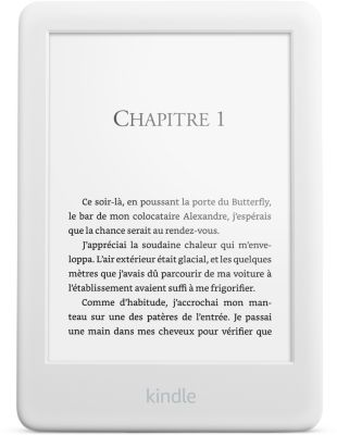 Liseuse eBook Amazon Nouveau Kindle 6' Blanc 4Go