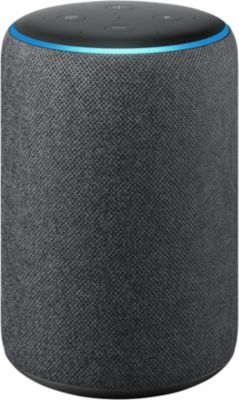 Assistant Vocal amazon echo plus 2 noir + assistant vocal amazon echo plus 2 blanc