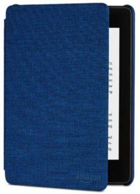 Etui Amazon Cover Kindle Paperwhite Tissu Bleu