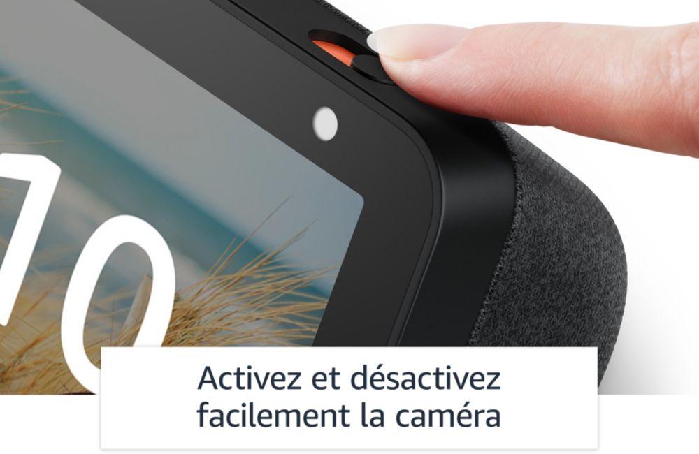 Sécurité Amazon Echo show 5 Boulanger